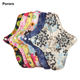 Healthy washable Bamboo Women Menstrual Pads Cloth Sanitary Pad