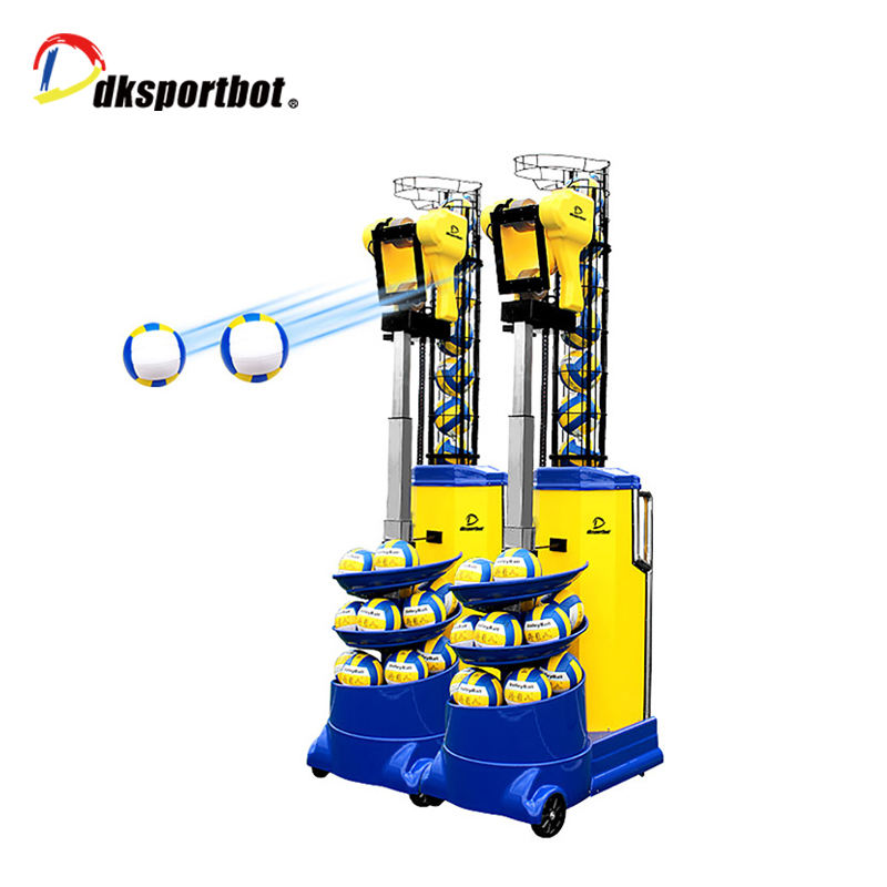 Factory produced volleyball machine serving equipments of volley ball