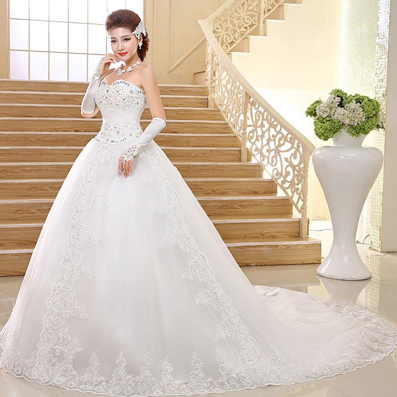 2019 New spring women wedding dress sexy lace bridal gown wholesale