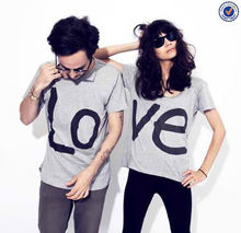 Factory Directly Sale Cheap Custom Cute Couple T-Shirt