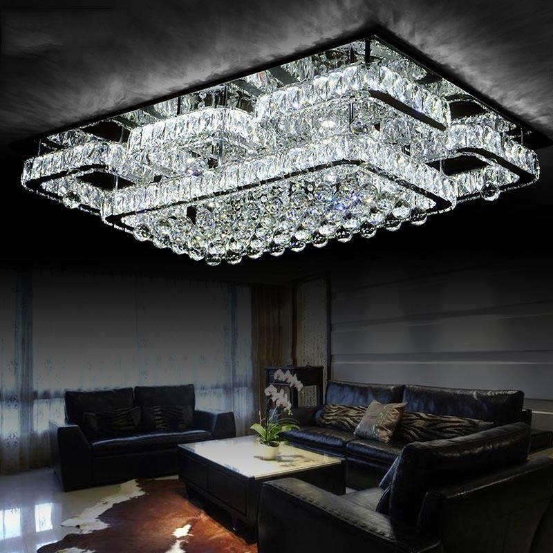 New arrival LED Crystal Chandelier Light Lustres de cristals Lamp for Living Room Crystal Light Home decorative Lighting