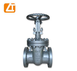 high quality 6 inch carbon steel manual flange os&y gate valve