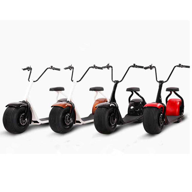 Leadway citycoco self balancing lml vespa fat tire elektrische scooter