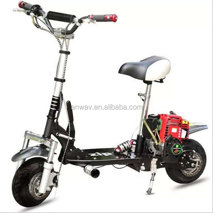 49cc mini folding gas scooter