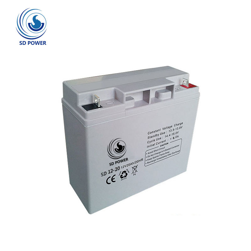 factory price high power agm li-ion battery pack 12v 20ah for solar system