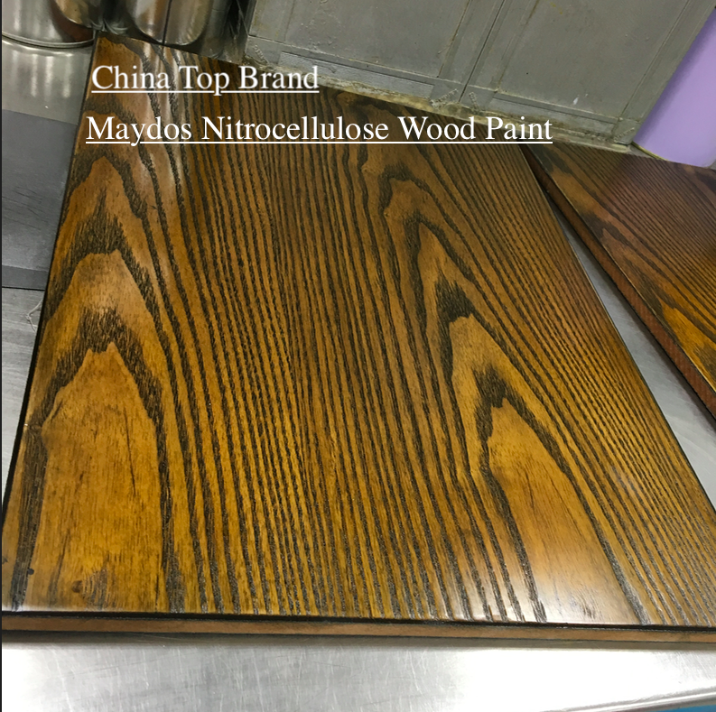 Maydos Food Grade Nitrocellulose Base NC Wood Paint LacquerためFurniture
