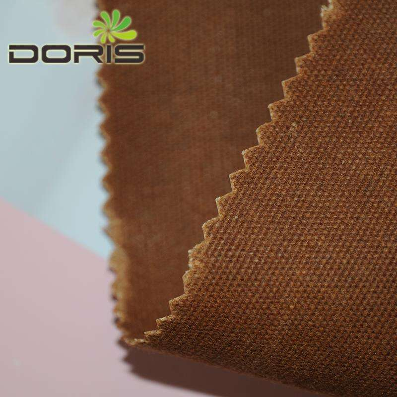 high quality oil waxed cotton canvas fabric in heavy weight