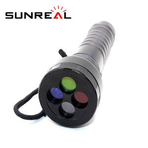 New Four Color High Bright Railway Signal LED Fish Light Work Torch