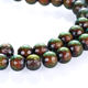 Color gradient natural hematite beads for jewelry making color change with temperature magnetic bracelet beads