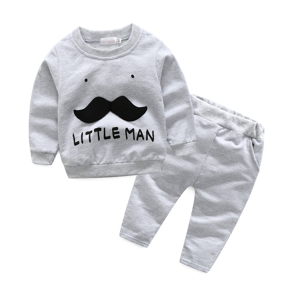 Bulk Wholesale Baby Clothes Sweatershirts 2 Piece Falling Clothing Sets Of Online Store