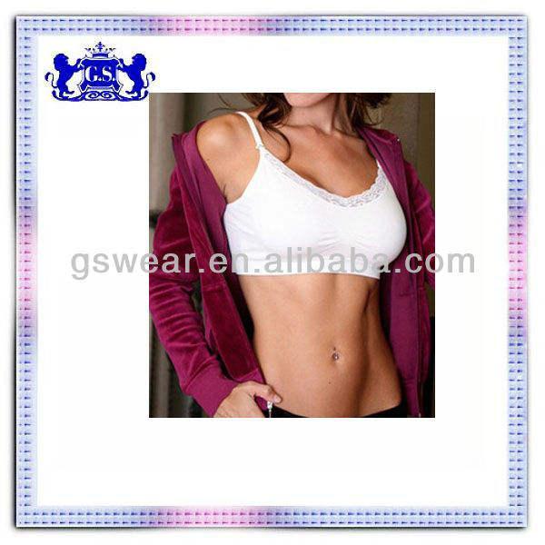 les femmes sexy top marque fashion 2013 soutien gorge ahh bra en nylon sans couture avec des tampons en gros mini sexy ladies