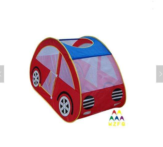 Car Shape Kids Play Tent for Child Outdoor or Indoor Playing Funny Games 6-panel Popup Kids Playpen Tent for sale