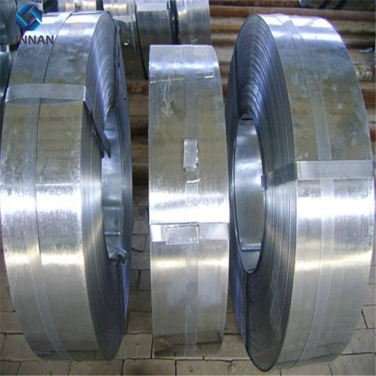 hot dipped galvanized steel strip coils price for manufacturing channel and pipes