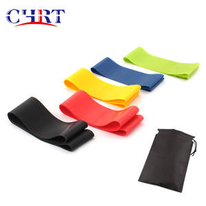 CHRT Indoor Resistance Band Ring Gym Exercise Tension Elastic Belt Yoga Field Training Fitness Exercise Band