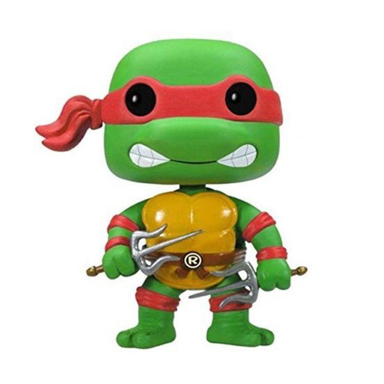 """Teenage Mutant Ninja Turtles 4pcs Figures New in Box Multicolour Headband 5.5/"""""""