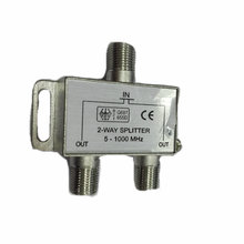 2 way Coax Cable Splitter 5-1000MHZ Cable TV splitter