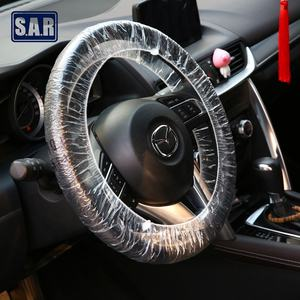 Disposable Car Steering Wheel Covers Elasticated Fit Vehicle Protection