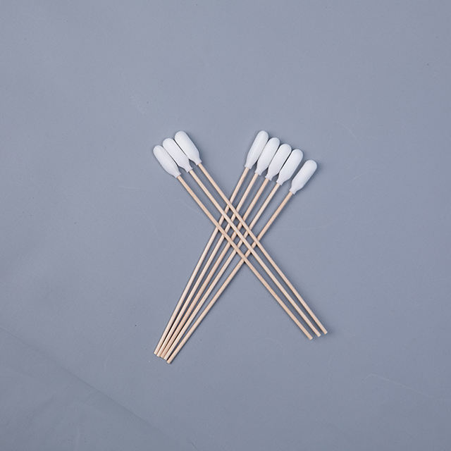 Disposal Long Handle Sterile Medical Cotton Bud Swab