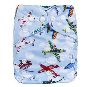 2019 Ananbaby Waterproof Fabric Baby Diaper For Babies