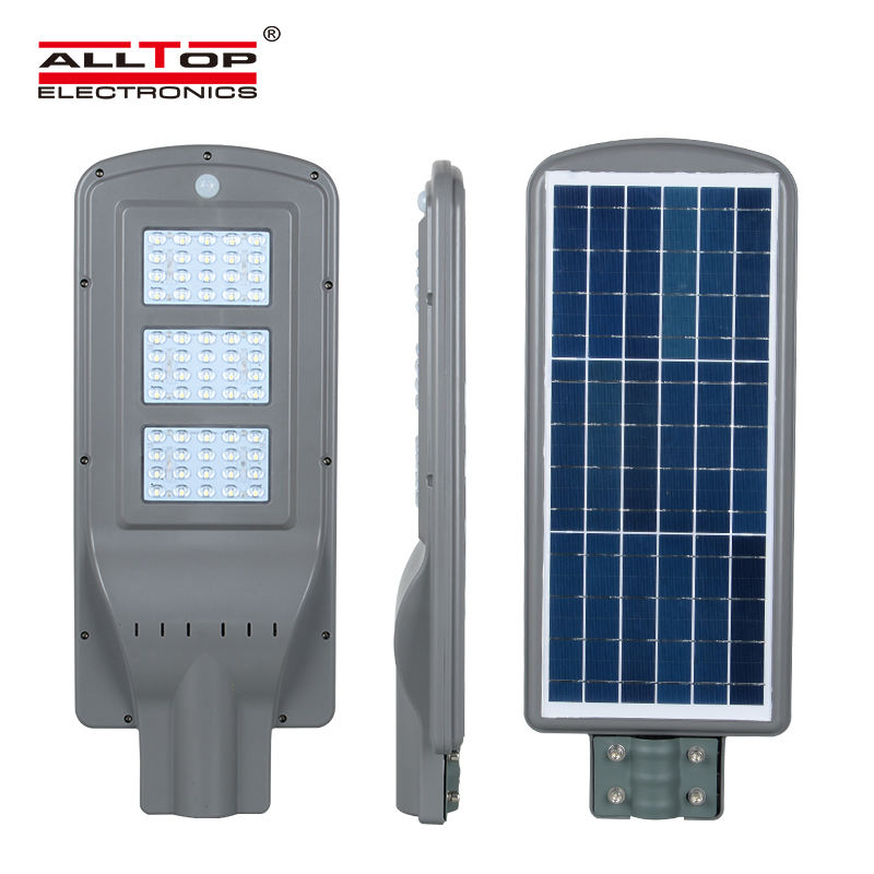 ALLTOP Energy saving outdoor all in one 60watt solar power led street lighting system