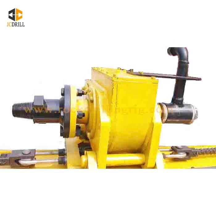 Hot selling pneumatic anchor horizontal directional borehole drilling machinery moveable type anchoring drill rig for mining