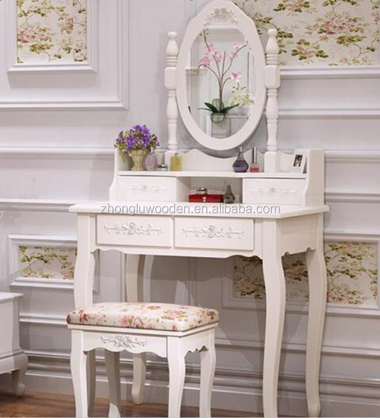 vanity table with drawers vanity table with lighted makeup white finished with stool