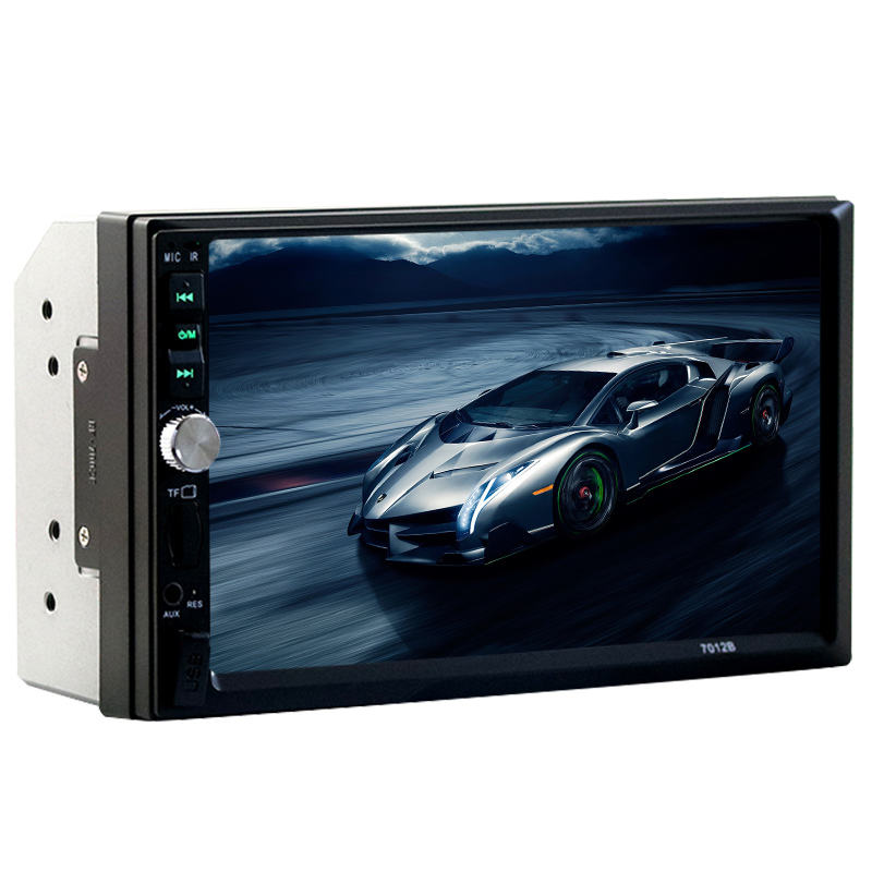 2 dubbele din auto MP5 7 inch bluetooth Geen DVD met FM touchscreen