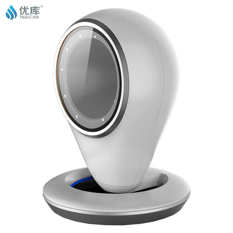 Presentation 1D 2D Barcode Desktop Scanner Reader Scanning Platform for Mobile Payment MP6500