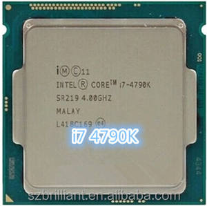 מקורי lntel מעבד i7 4790K Quad Core 4.0GHz LGA 1150 TDP 88W 8MB
