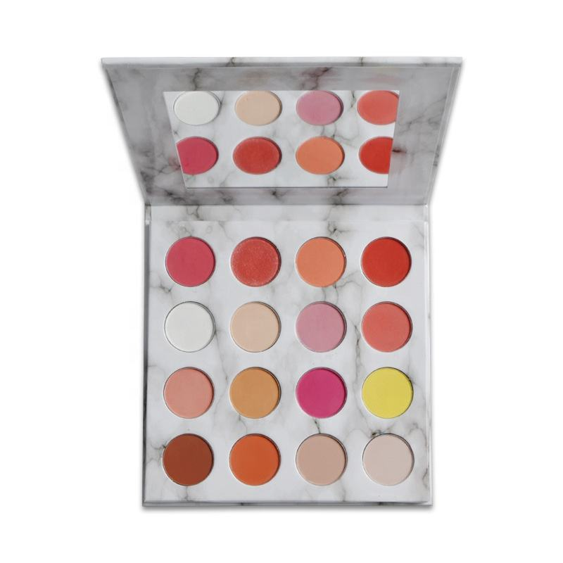 High Quality 16 Color Makeup Eyeshadow Palette Private Label Cosmetic With Low MOQ Low Price