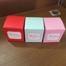 China Supplier Custom Logo Pritnted Color Box Wedding Candy /Cosmetic Product /Jewelry Paper Packaging Box Small Gift Box