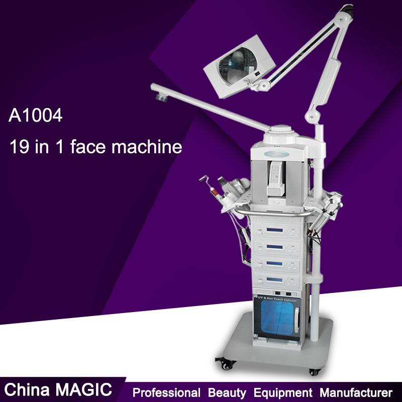 2018 Trending Products 19 in 1 A1004 Multifunction Beauty Equipment Machine For Salon Use