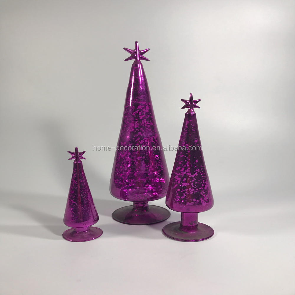 various size european hand made glass christmas tree garland ornaments