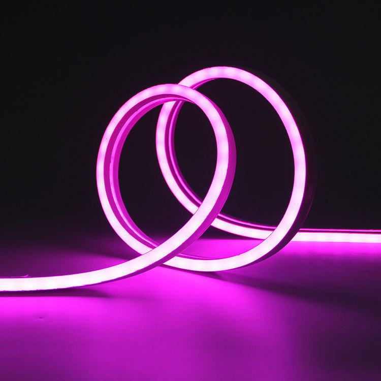 N1020 LED Neon Light RGB Flexible LED Strip Light Color Changing Neon Sign Rope Light Waterproof 24VDC Neon LED