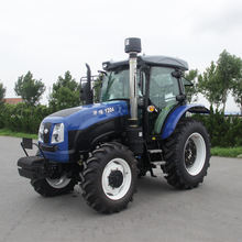 Chinese Machinery New Product 4x4 Drive Farm 120 hp Farming Factory Tractor With Trailer Plow For Sale