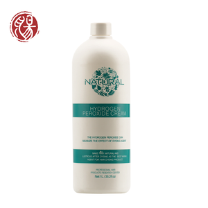 Zunrong Unique Support Private Label OEM Lighten Developer/Peroxide For Hair Dye Color Cream 1000 Ml Peroxide And Ammonia Free