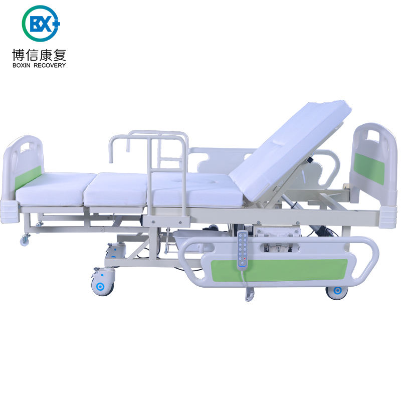 Elderly Home Care Automatic Adjustable Hospital Bed For Sale