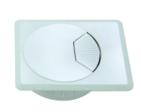 Caja cuadrada alta calidad turística pasacables / cable salida directa a prueba de agua