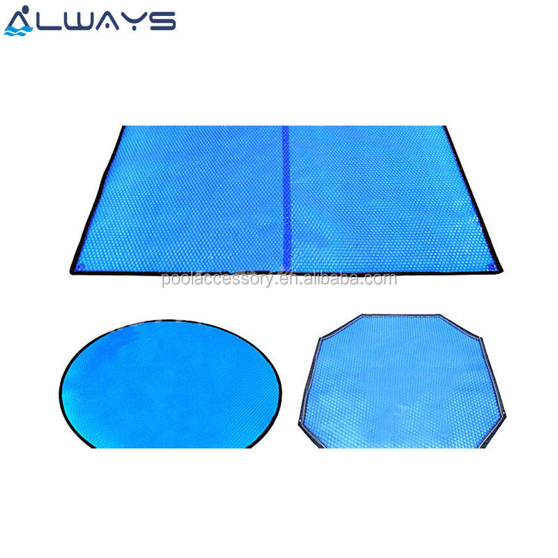 Customized PE Bubble Foam Film Solar Pool Cover Insulated Swimming Pool Cover