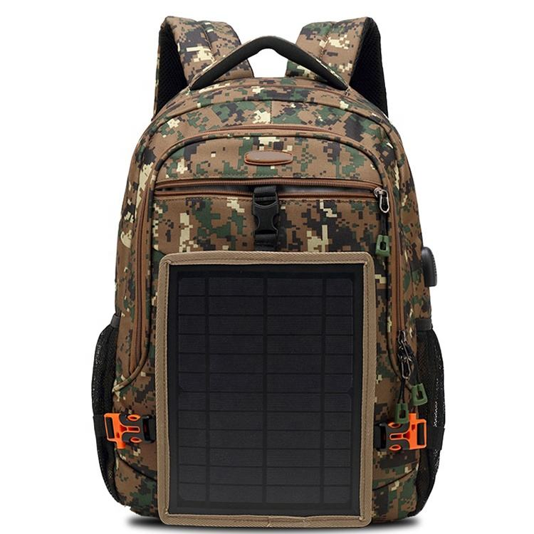 Men'S Solar Charging Backpack bagpack Waterproof Smart Usb Charging Business Laptop Bagpack,Tactical Backpack