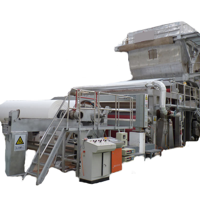 Wood pulp raw material napkin paper making machine