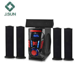 2018 discount High volume karaoke 5.1 home theater speaker amplifier and speaker dvd player