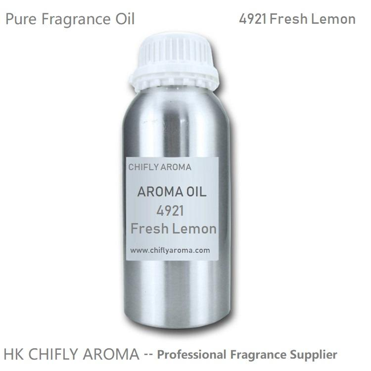 Fresh Lemon Pure Fragrance Oil Perfume for Soap, Candle, Reed Diffuser, Hotel Scent Delivery System and Odor