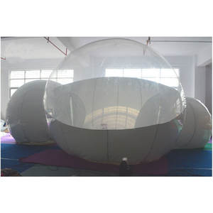 Design Baru Inflatable Gelembung Transparan Tenda