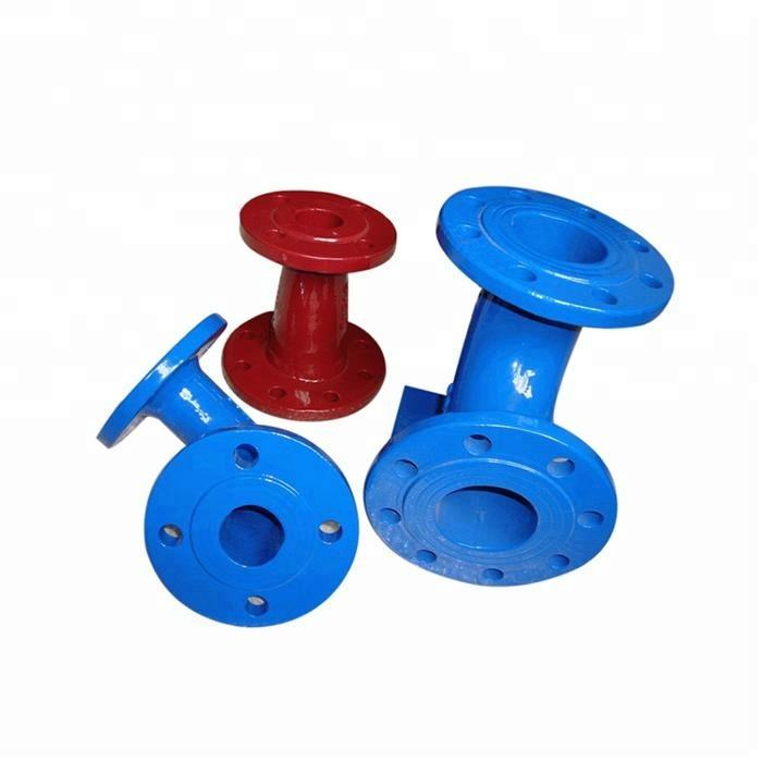 ductile iron pipe fitting with puddle flange