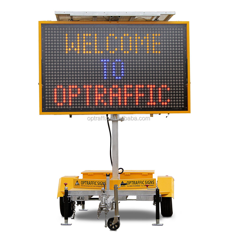 19 M (High) 저 (Quality 트래픽은 슈퍼 플럭스 smd의 dip Control 장치 Electronic LED Screen Board Mobile 트레일러 Road Sign
