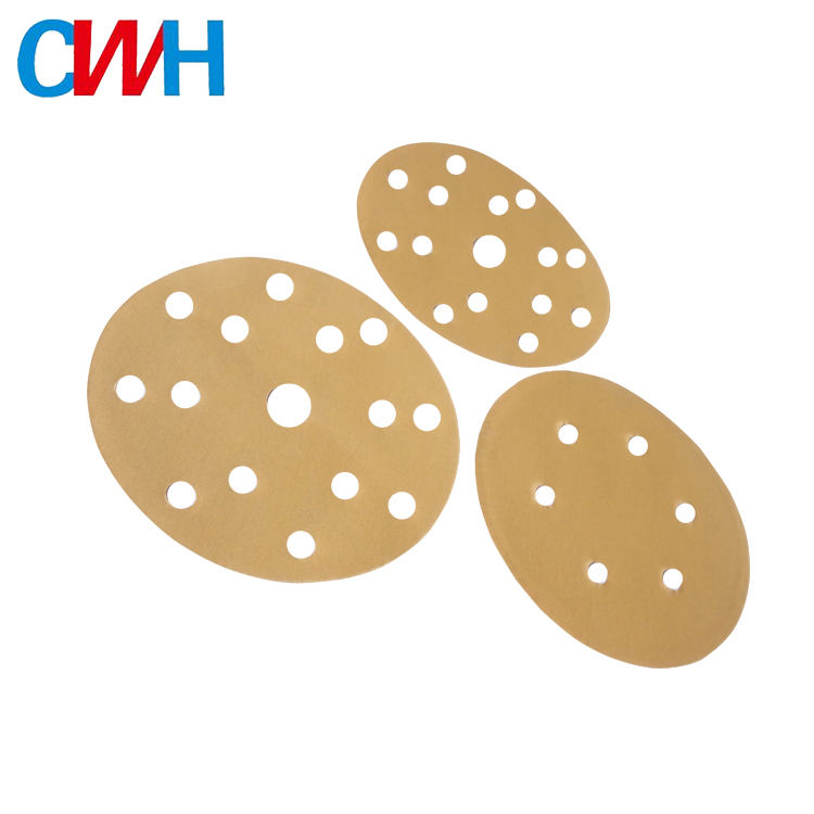Wholesale 6Inch round abrasive sandpaper for polishing wood