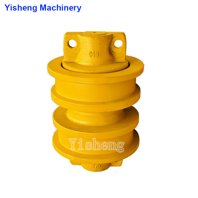 Top quality dozer track roller for D5H crawler undercarriage