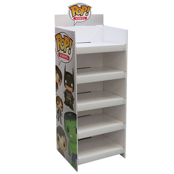 Free New Custom Design High Quality Promotion Recyclable Funko Pop Shelf