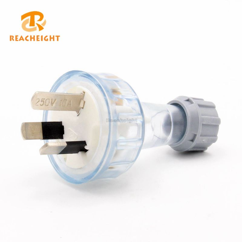 SAA Australian 10A 3 Pin Rewire Male Plug For DIY Power Cords